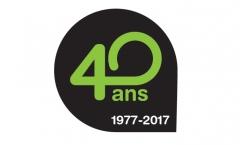Logo des 40 ans du SITEVI